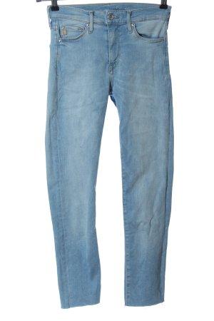 & DENIM Jeans 7/8 bleu style décontracté