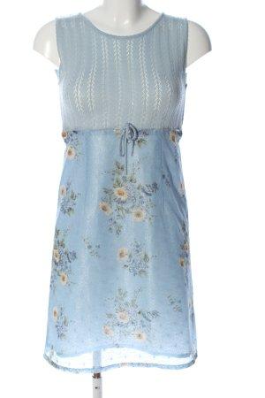 A-Linien Kleid Allover-Druck Elegant
