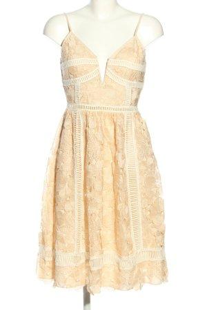 Saylor Abendkleid weiß Blumenmuster Elegant