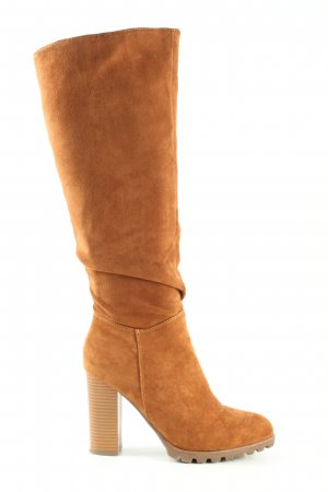 Heel Boots brown business style
