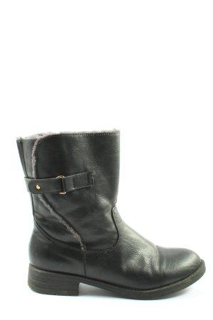 In extenso Absatz Stiefel schwarz Casual-Look
