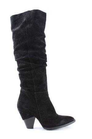 L'Estrosa Absatz Stiefel schwarz Casual-Look