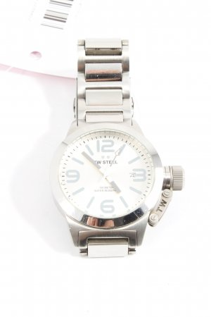 Analog Watch silver-colored casual look