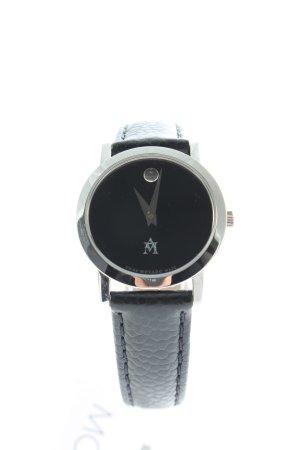 MOVADO Montre analogue noir style décontracté