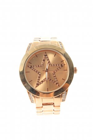 Analoog horloge goud casual uitstraling