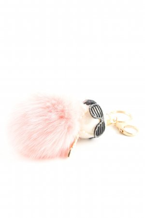Pendant pink-natural white casual look