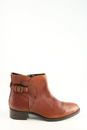 Ankle Boots hellorange Casual-Look
