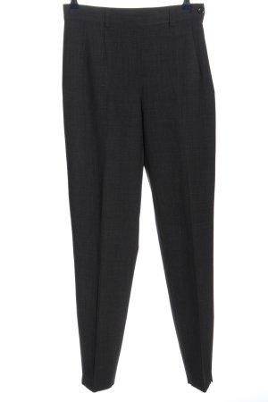slap Spodnie garniturowe czarny-jasnoszary Melanżowy W stylu biznesowym