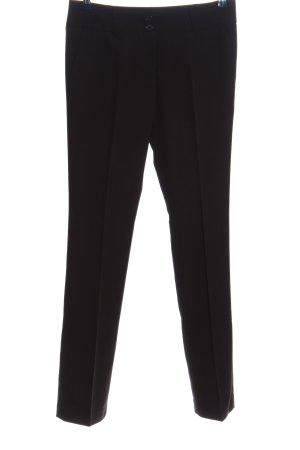 torrente couture Spodnie garniturowe czarny W stylu biznesowym