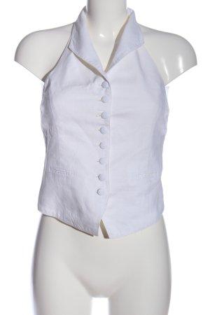 Gilet de costume blanc style d'affaires
