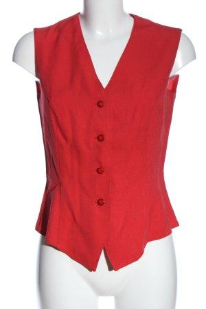 new tast Chaleco de vestir rojo elegante