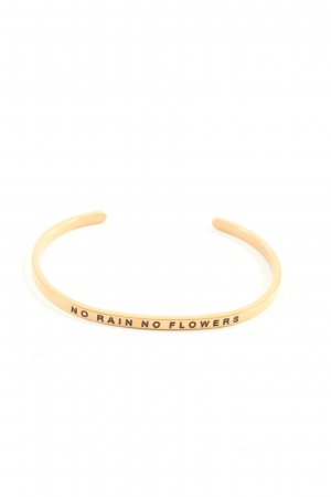 Bracelet gold-colored casual look