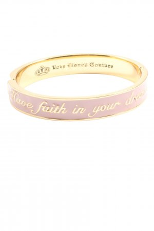 love disney couture Bangle różowy-złoto Wydrukowane logo W stylu casual