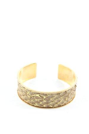 Bracelet de bras doré-gris clair motif animal style décontracté