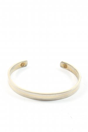 Armlet gold-colored-silver-colored casual look
