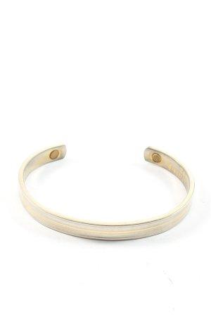 Bracelet de bras doré-argenté style décontracté