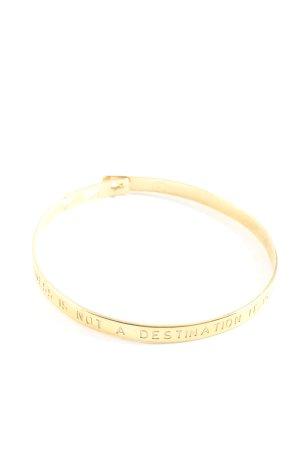 MYA BAY Bracelet de bras doré style décontracté