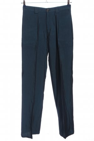 Mode Wichtig Pleated Trousers blue casual look