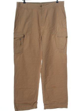 Carolina Kostner Baggy broek bruin casual uitstraling