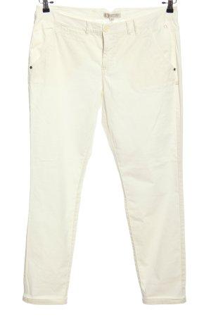 Pantalon «Baggy» blanc style décontracté