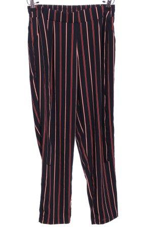 Pantalon «Baggy» motif rayé style décontracté