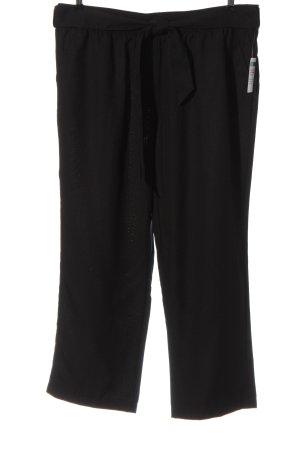 Luźne spodnie czarny W stylu casual