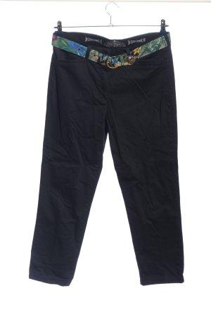 Pantalone chino nero stile casual
