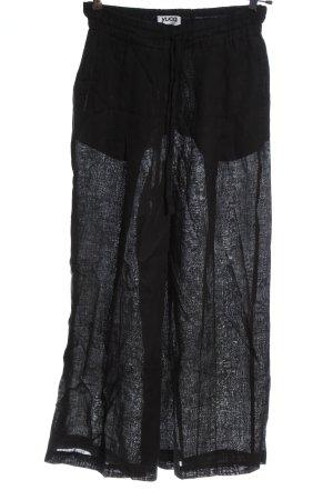 yuca Baggy broek zwart casual uitstraling