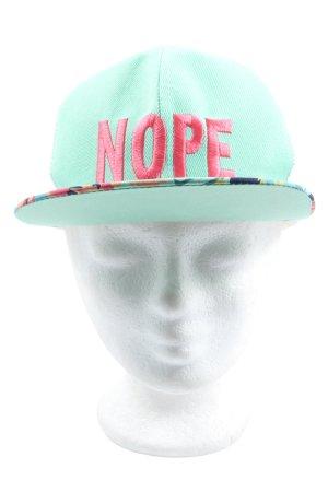Cappello da panettiere caratteri ricamati stile casual