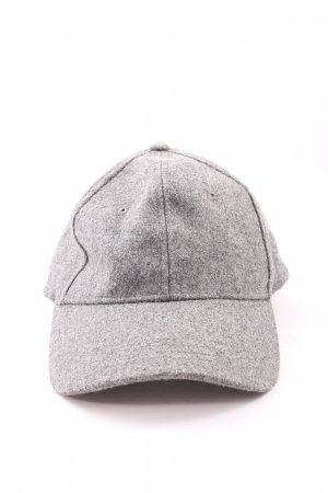 Baker's Boy Cap light grey flecked casual look