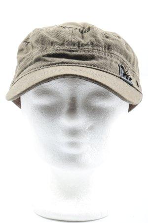 Cappello da panettiere marrone stile casual