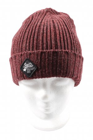 Smith & Miller Beanie red flecked casual look