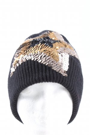 exquisite j Beanie abstract pattern casual look