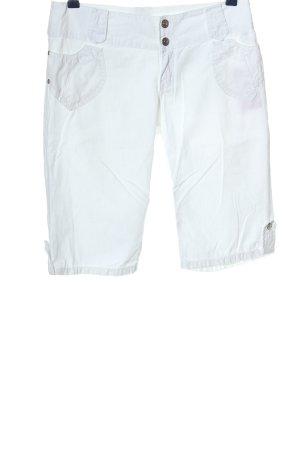 Bermuda bianco stile casual