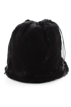 Beuteltasche schwarz Casual-Look
