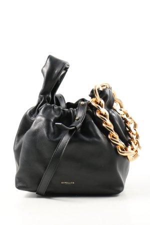 "Demellier Pouch Bag ""Demellier // ""The Santa Monica with Chain"""" black"