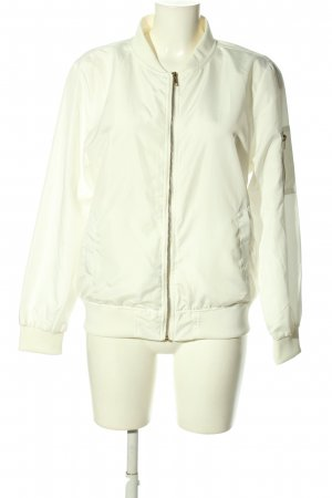 Blouson bianco stile casual
