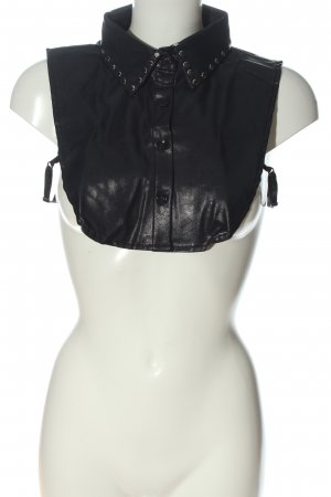 Dickey (for blouse) black casual look