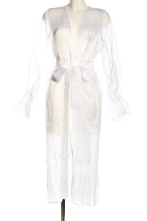 "Kimono ""MOYE // ""SILK ORGANZA ROBE - JOSEPHINE WHITE"""" weiß"