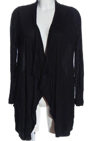 Giacca a blusa nero stile casual