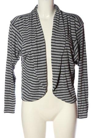 Blouse Jacket light grey-black flecked casual look