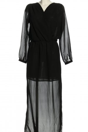Rut & Circle Blusenkleid schwarz Elegant