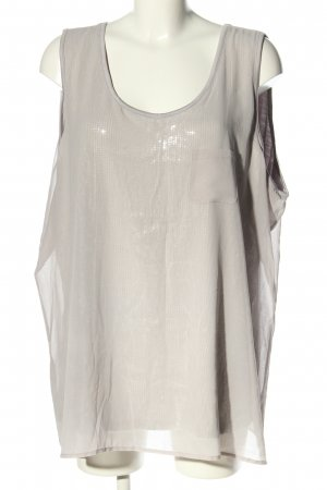 DESIGN History Blouse Top light grey casual look