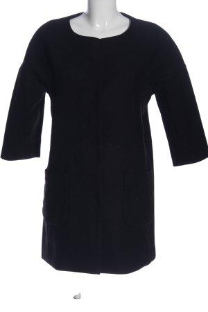 censured Long Jacket black casual look