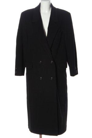 calw Abrigo largo negro estilo «business»