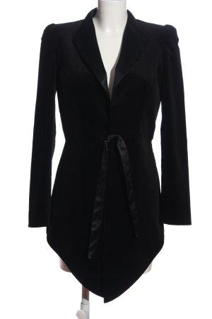 Viola Spiechowicz Floor-Lenght Coat black casual look