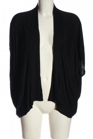 wool line Boléro noir style décontracté