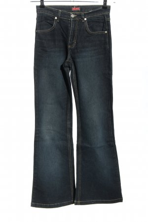 Boot Cut Jeans black casual look