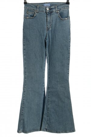 Jeans bootcut bleu style décontracté