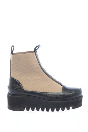 Booties schwarz-creme Casual-Look